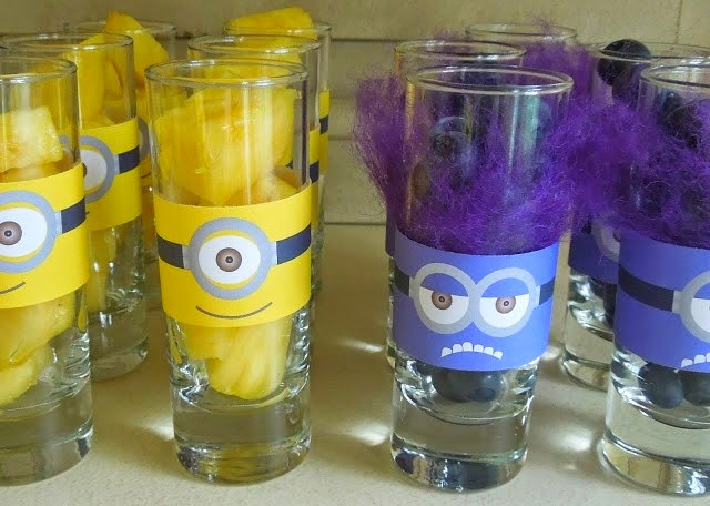 Minions Cups.Free Printables.