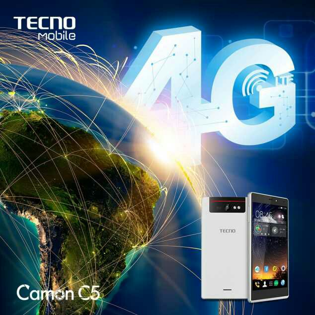 Tecno Set To Launch Camon C5 WIth 4G Features