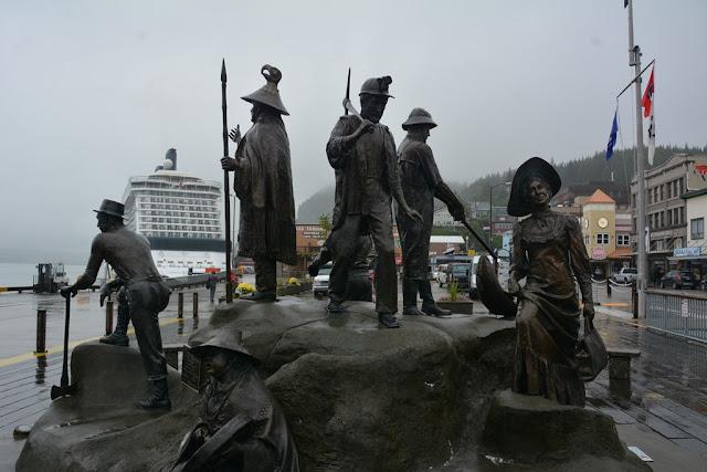 Ketchikan Alaska statues