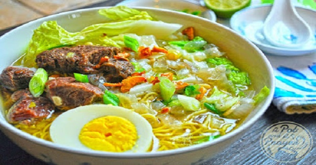 Beef Noodle Soup (Beef Mami recipe)