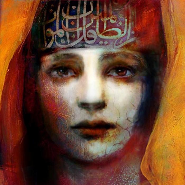 Женские лица. Suhair Sibai 7