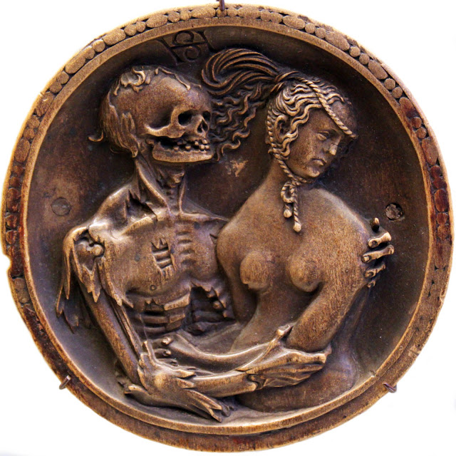 Death and the Maiden by Hans Schwarz