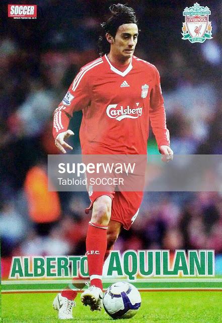 Alberto Aquilani Liverpool 2008