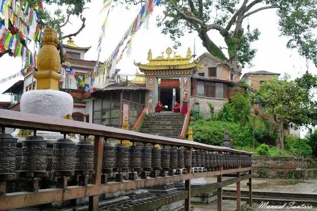Swayambhunath, Manjushree Temple