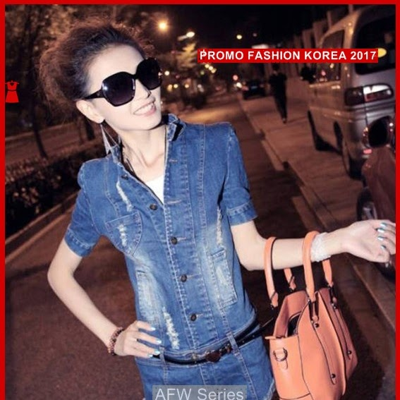 BAMFGW084 Playsuit Denim Import Wanita PROMO BMG