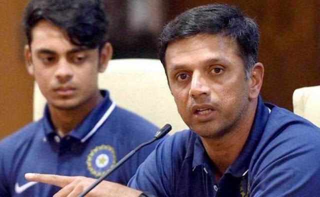 ICC U-19 World Cup Final: After becoming the world champion, the master of 'Juniors', Rahul Dravid said this special thing
