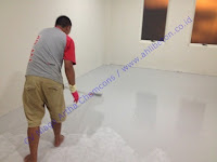cat lantai ruko dengan menggunakan epoxy lantai