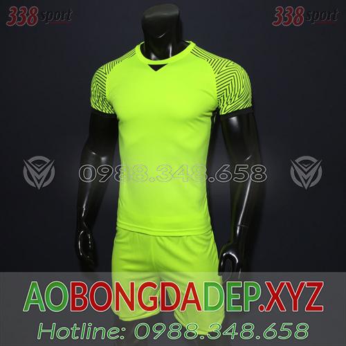 Áo Ko Logo U23 Việt Nam 2018 Màu Xanh Chuối Đẹp