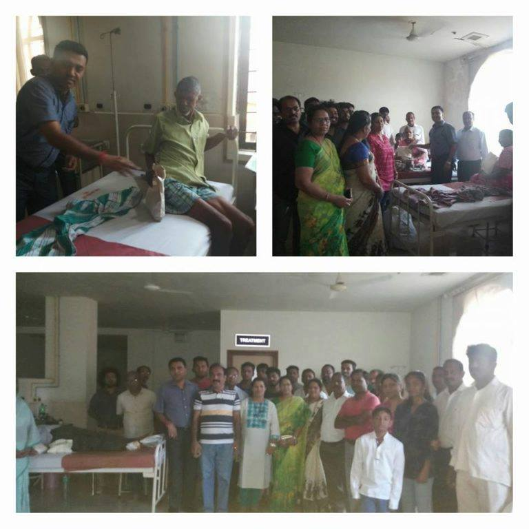 Pramod Sawant Helping Patients