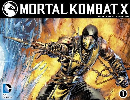 Mortal Kombat X – Truyện tranh