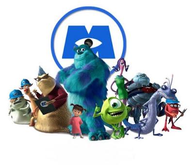 Um pouco sobre Monstros SA da Pixar
