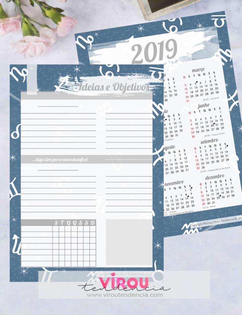 Planner 2019