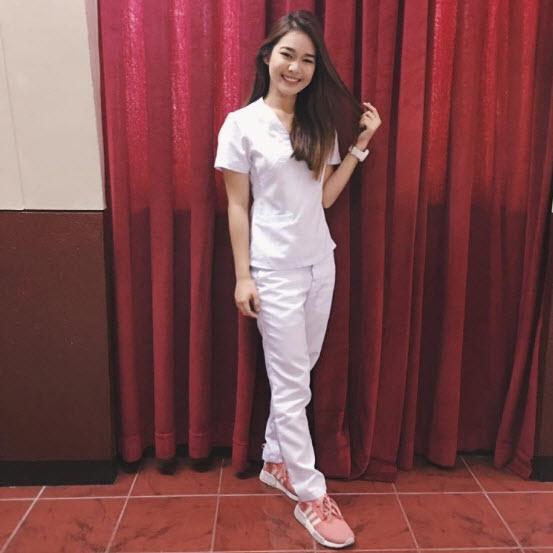 Meet this Beautiful Pinay Nurse,Tiyak gagaling Agad ang