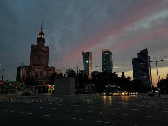 Palazzo della cultura e della scienza-Varsavia