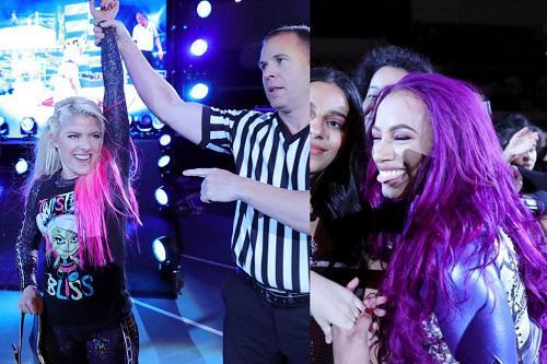 Alexa Bliss and Sasha Banks make history at WWE Abu Dhabi