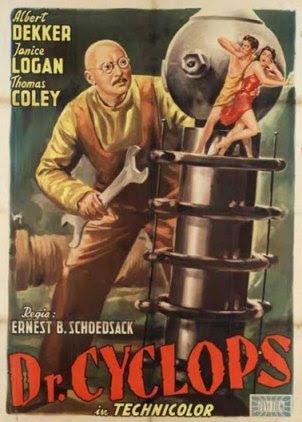 Dr. Cyclops 1940 / Poster