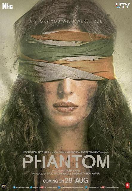 Phantom (2015) Movie Poster No. 3