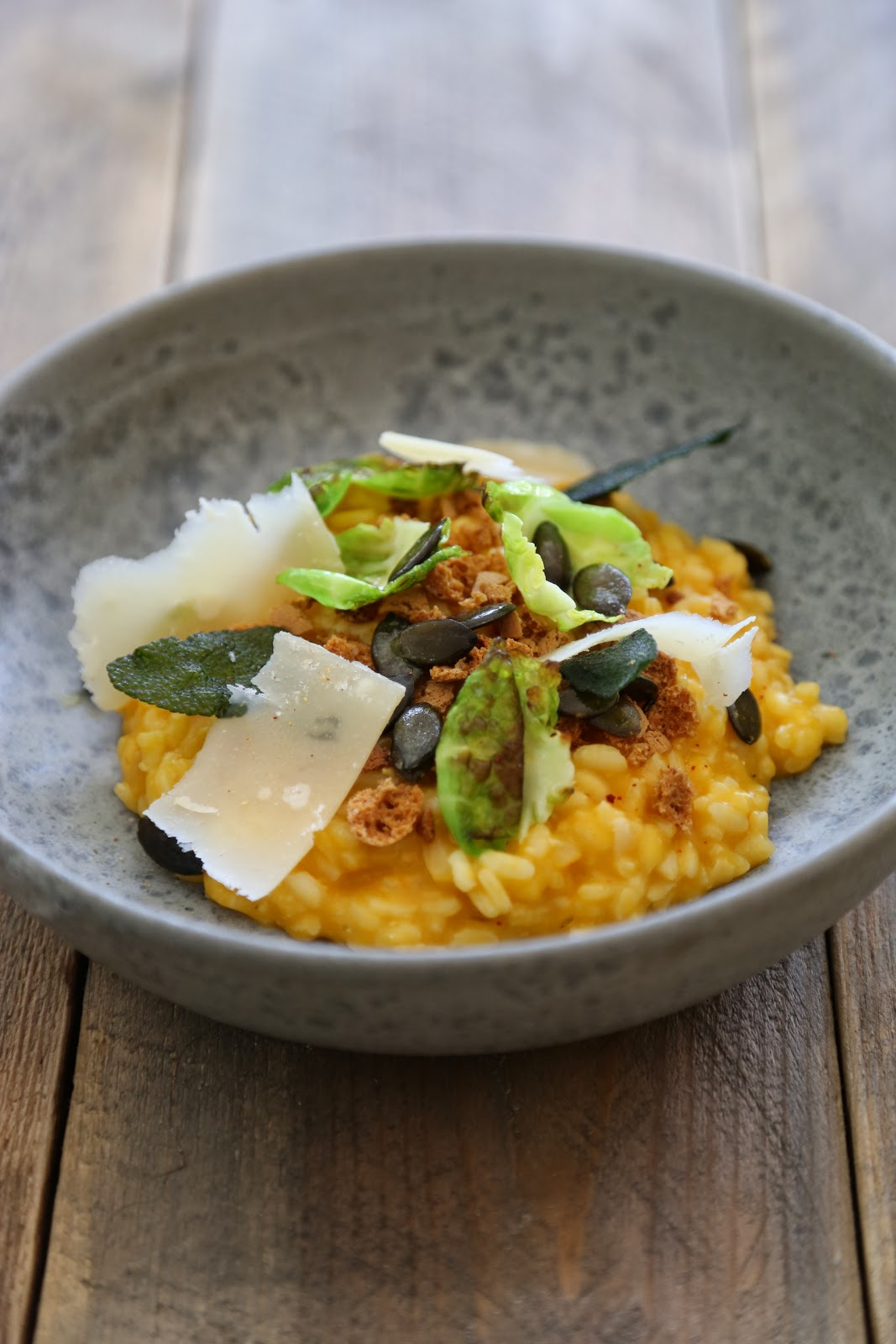 risotto , courge butternut , Frenchie , Greg MArchand