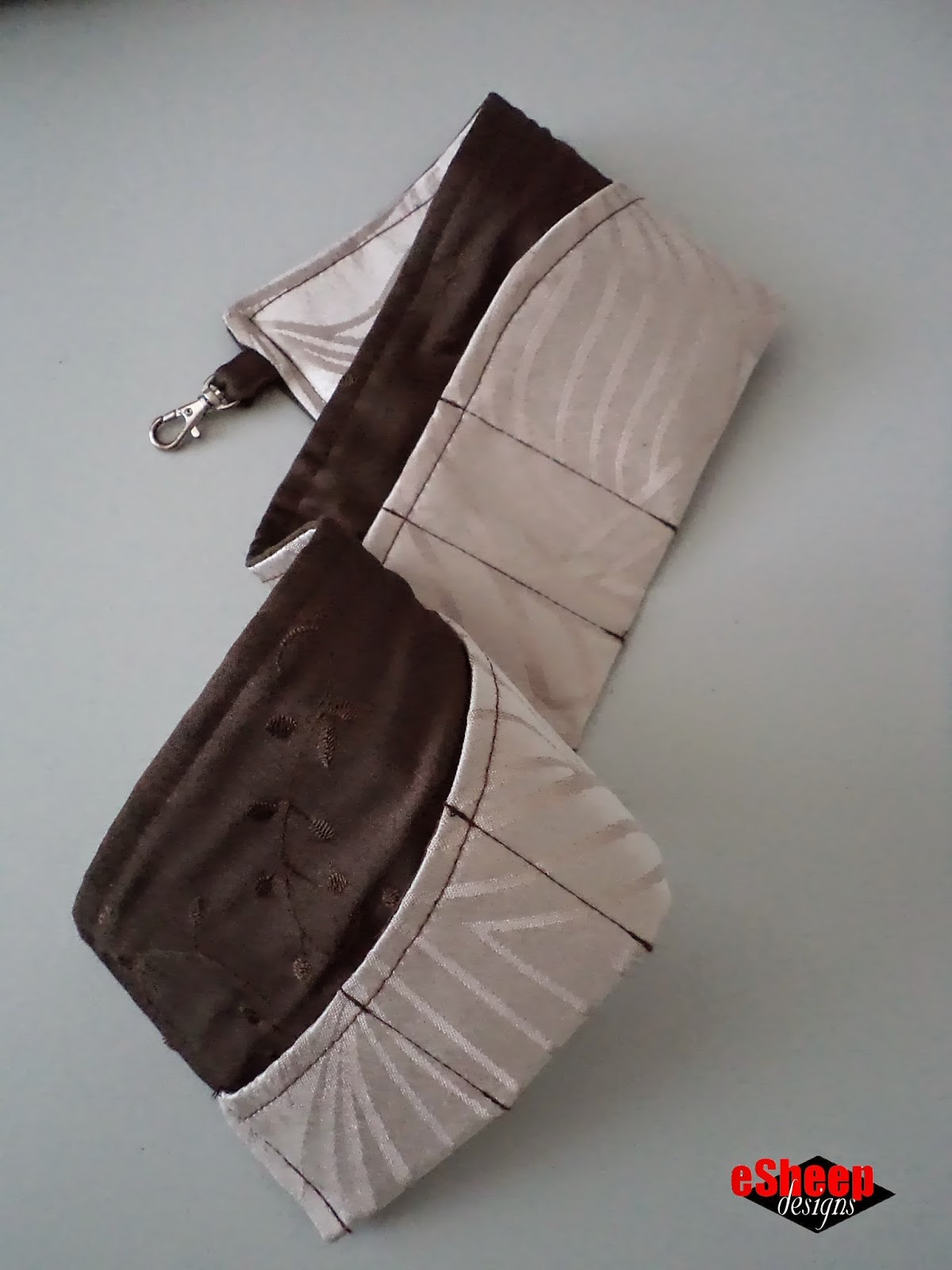 Wave Purse Organizer by eSheep Designs