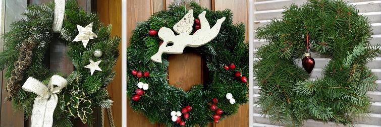Kranzdeko für die Weihnachtszeit