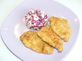 Snitele cu salata de varza retete culinare,