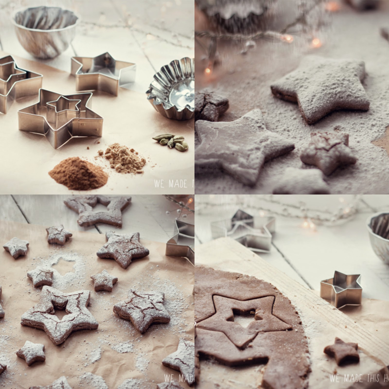Winter spiced biscuits recipe