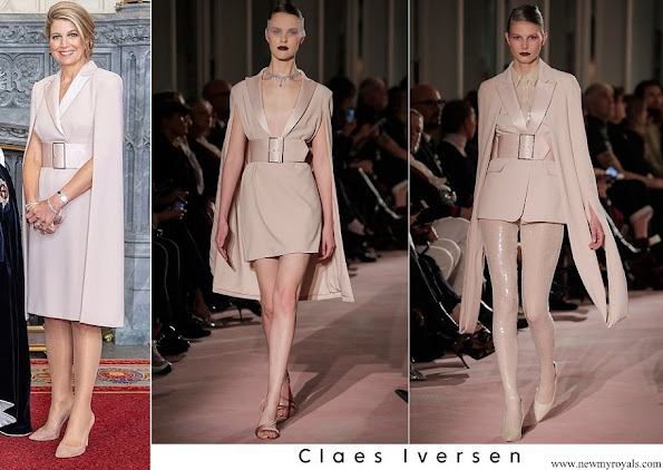 Queen Maxima Claes Iversen SS 2018-Couture collection