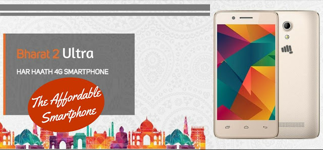 Micromax Bharat 2 Ultra: Vodafone's Bundled Smartphone For Rs. 999!