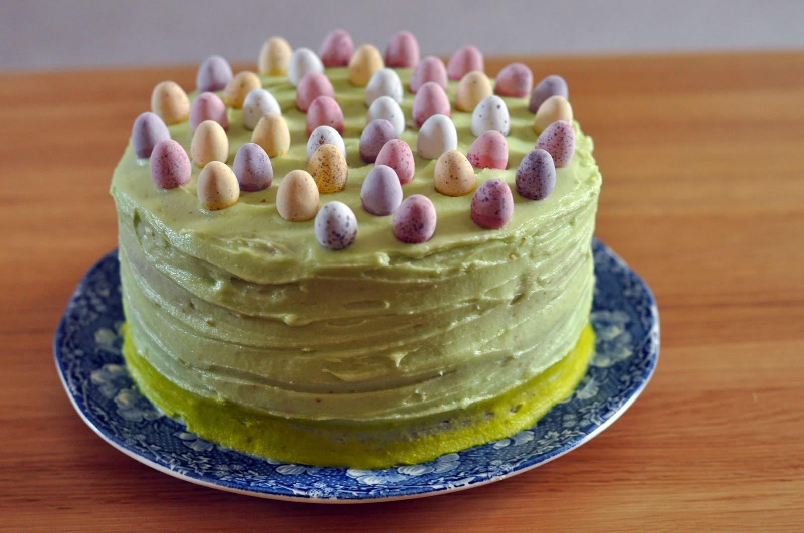 Lemon & Raspberry Easter Cake | Sophie Loves Food