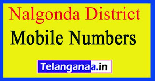 Nuthankal Mandal MPTC | ZPTC Member | MPP | Vice-President Mobile Numbers Nalgonda District in Telangana State