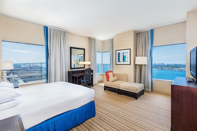 San Diego's distinctive coastal culture is obvious the moment you arrive at Hilton San Diego Bayfront. This 30-story hotel, with sun and sea-inspired design, offers a cool vibe and great amenities.