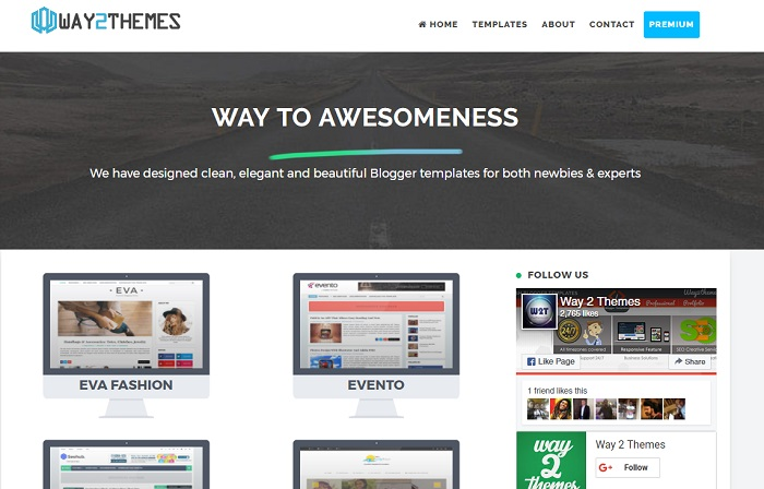 plantillas gratis para blogger way2themes