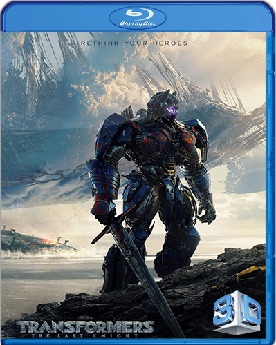 Transformers: The Last Knight [2017] [BD50] [Latino] [3D]