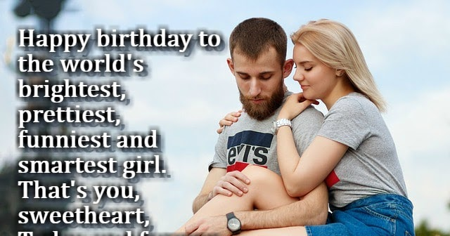 Creative Birthday Wishes for Girlfriend in English