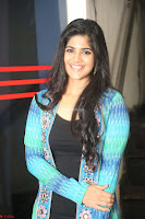 Megha Akash in a beautiful Anarkali dress with Long Jacket at LIE success meet ~  Exclusive Celebrities Galleries 035.JPG