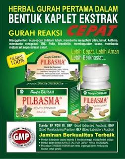 resep Ramuan obat gurah alami Herbal PILBASMA asli Tradisional