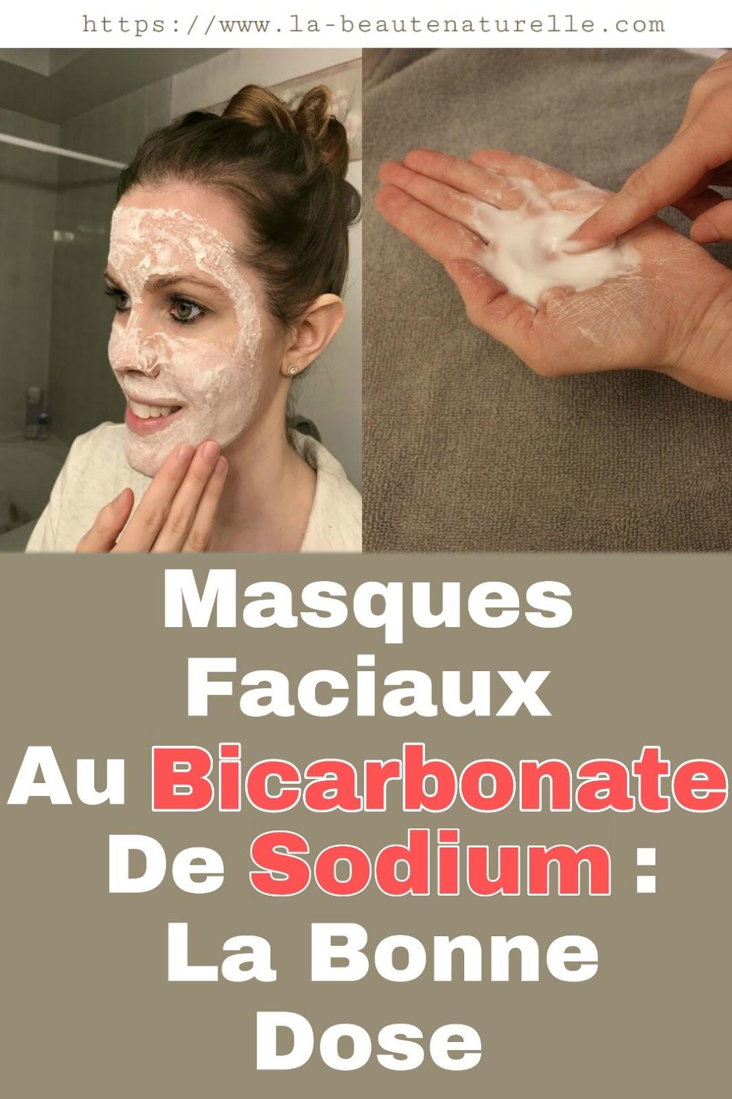 Masques Faciaux Au Bicarbonate De Sodium : La Bonne Dose