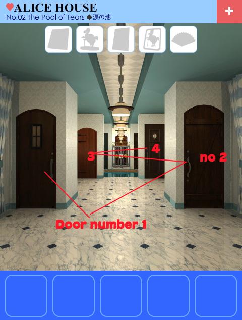 Escape alice house level 2 walkthrough escape mobile games for Minimalist house escape 2 walkthrough