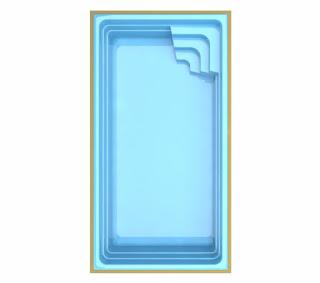 Saiba Preço piscina de fibra Roma TP640
