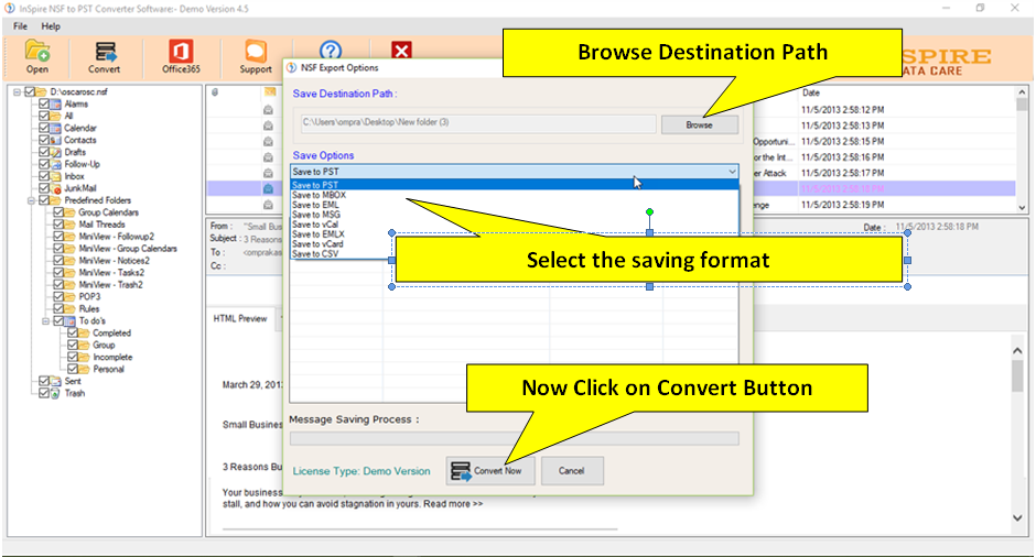 Lotus Notes NSF file Recovery: Top Lotus Notes NSF Recovery