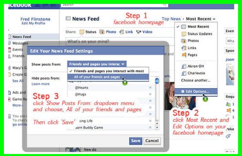 How To Change Facebook News Feed Settings
