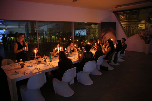 Dinner im LÒréal Skyloft, Berlinaler 2016