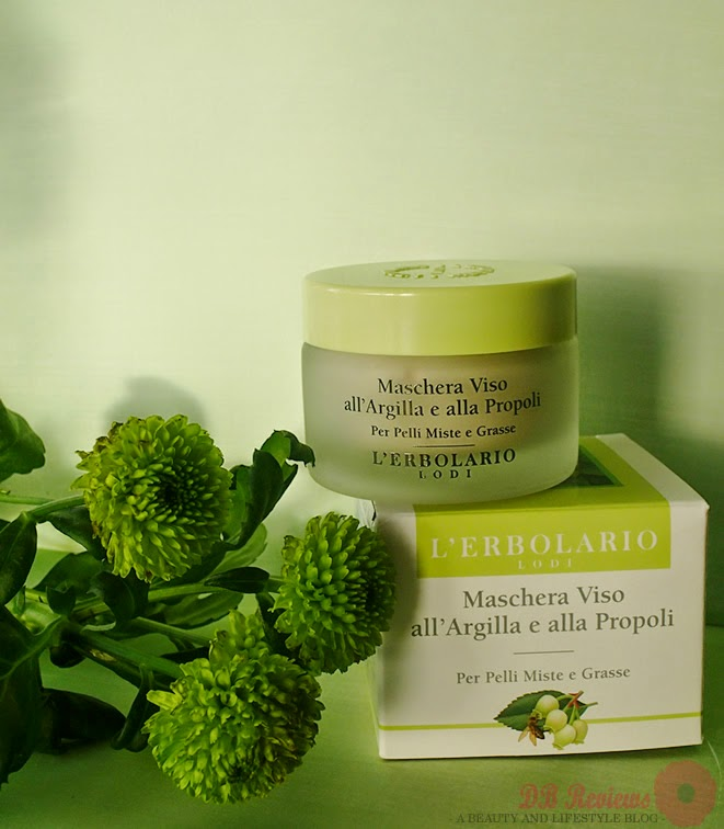 L'Erbolario Clay & Propolis Face Pack