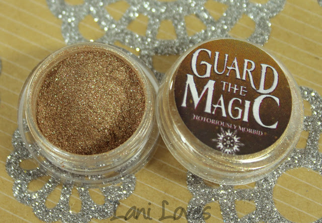 Notoriously Morbid Sleepy Sands Eyeshadow Swatches & Review