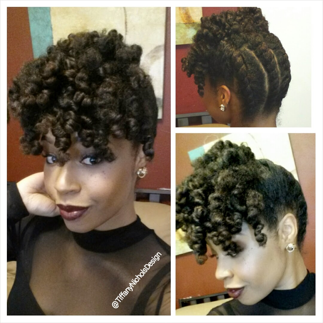 Natural updos hairstyles fade haircut a holiday updo for your natural hair curlynikki natural hair care pmusecretfo Images