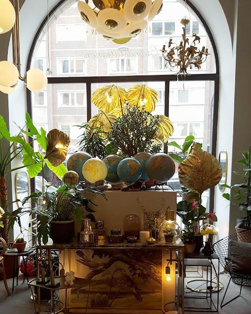 Decoicono: Las lámparas doradas de Tomasso Barbi