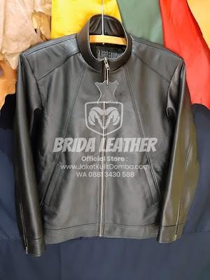 Jual Jaket Kulit Asli Garut Pria Domba Original Brida Leather M05 | WA 08813430588