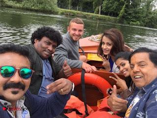 Actress Trisha Stills At Mohini Movie shooting Spot 0006