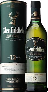 グレンフィディック12年…緑色のボトルとケース