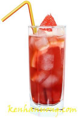 Nước bưởi có ga - Cocktail